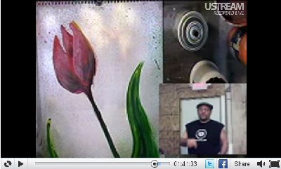mothersdayustream Art Journal Cinco de Madre!