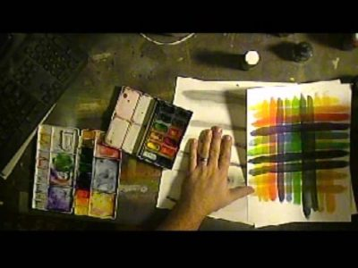 Color Mixing Grids