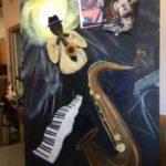 Pamela French Jazz Painting